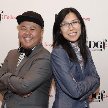 Kit Yan and Melissa Li. Photo by Lia Chang