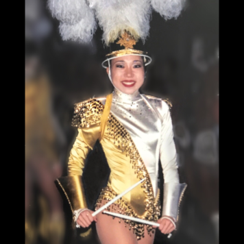 Lainie Sakakura as a Rockette. Photo courtesy of Lainie Sakakura