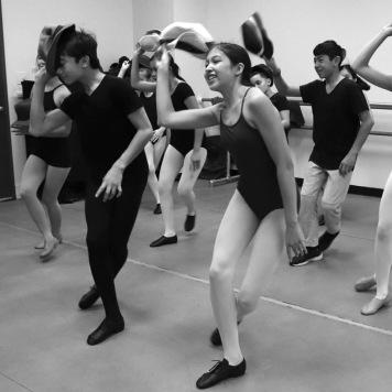 Sakachez dance students. Photo by Lia Chang