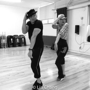 Alex Sanchez and Lainie Sakakura. Photo by Lia Chang