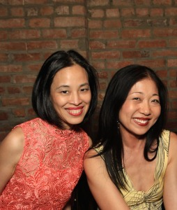 Lia Chang and Lainie Sakakura. Photo by Garth Kravits
