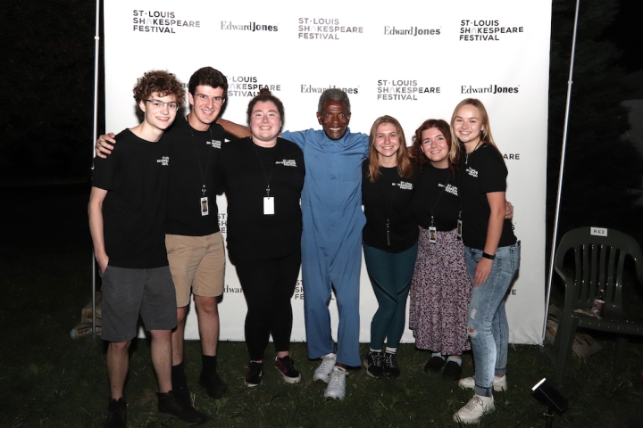 Photos: Go Inside Opening Night of St. Louis Shakespeare Festival's KING LEAR With André De Shields & More
