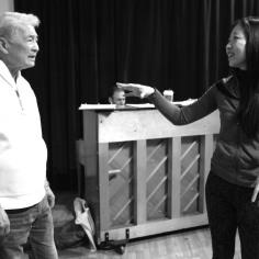 Alvin Ing and Lainie Sakakura. Photo by Lia Chang