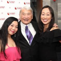 Yuka Takara, Alvin Ing, Sally Hong. Photo by Lia Chang