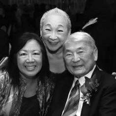 Karen, Lori Tan Chinn and Alvin Ing. Photo by Lia Chang