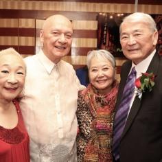 Lori Tan Chinn, Jose Takayo Fischer and Alvin Ing. Photo by Lia Chang