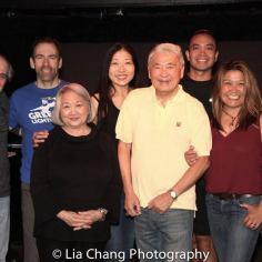 Armando Bravi, Thomas Conroy, Virginia Wing, Lainie Sakakura, Alvin Ing, Jose Llana and Hazel Anne Raymundo. Photo by Lia Chang