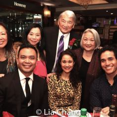 Karen Huie, Jose Llana, Yuka Takara, Ali Ewoldt, Alvin Ing, Virginia Wing and Adam Jacobs. Photo by Lia Chang