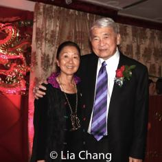 Honorees Susan Kikuchi and Alvin Ing. Photo by Lia Chang
