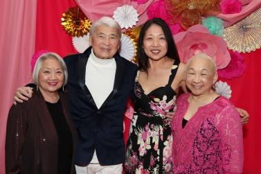 Virginia Wing, Alvin Ing, Lainie Sakakura and Lori Tan Chinn. Photo by Lia Chang
