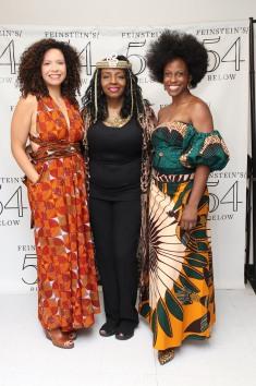Lori Tishfield, Freida Williams, Kimberly Marable. Photo by Lia Chang