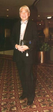 Alvin Ing at the opening night party of the Broadway revival of Flower Drum Song at the Marriott Marquis Hotel on October 17, 2002. Photo by Lia Chang