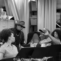 Debra Walton, Micki Grant and Devin L. Roberts. Photo by Lia Chang