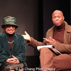 Micki Grant and Erich McMillan-McCall. Photo by Lia Chang