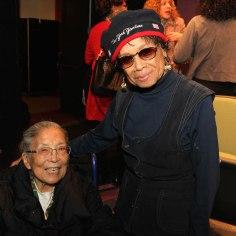 Cobi Narita and Micki Grant. Photo by Lia Chang