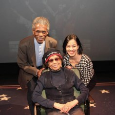 André De Shields, Micki Grant and Lia Chang. Photo by Garth Kravits