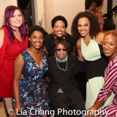 Annastasia Victory, Marla McReynolds, Rheaume Crenshaw, Micki Grant, Nina Hudson and Monique Smith. Photo by Lia Chang