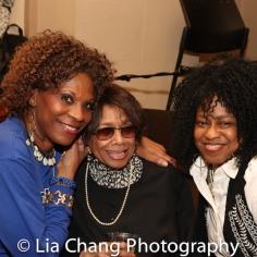 Debbie McIntyre, Micki Grant and Jackie Jeffries. Photo by Lia Chang