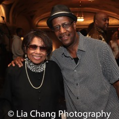 Micki Grant and Patience Higgins. Photo by Lia Chang