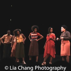 Marshall L. Davis, Jeff Foote, Alexandria Bradley, Shonica Gooden, Amber Barbee Pickens, Dayna Dantzler, Rheaume Crenshaw. Photo by Lia Chang