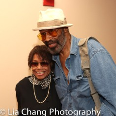 Micki Grant and Anthony Chisholm. Photo by Lia Chang