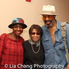 Marjorie Johnson, Micki Grant and Anthony Chisholm. Photo by Lia Chang