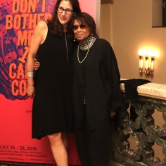 Anne Kaufman and Micki Grant. Photo by Lia Chang