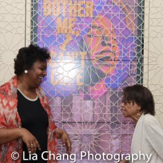 Kirsten Childs and Micki Grant. Photo by Lia Chang