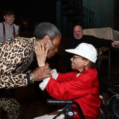 André De Shields and Micki Grant. Photo by Lia Chang